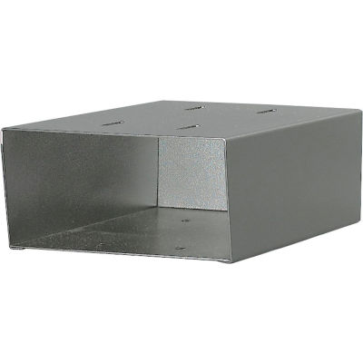 Jayco Aluminum Newspaper Holder For Standard Gray