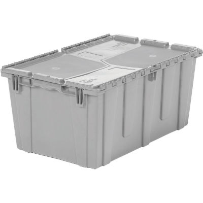 ORBIS Flipak® Distribution Container FP243M - 26-7/8-17 x 12 Gray