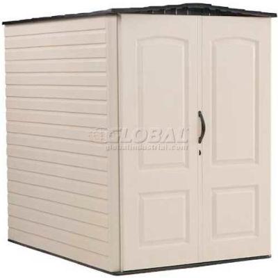 "Rubbermaid Large Storage Shed FG5L3000SDONX, 4'4""W X 6'D X 6'H"
