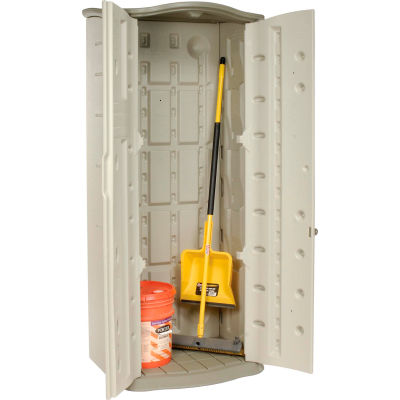 """Rubbermaid® Vertical Storage Shed, 2'6""""W x 2'1""""D x 6'H"""