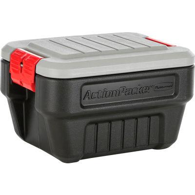 United Solutions 1170 ActionPacker Lockable Storage Box 8 Gallon 20 x 14-5/8 x 12