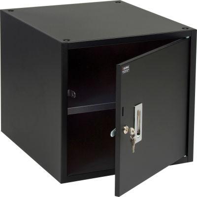 "Global Industrial™ Storage Workbench Cabinet 17-1/4""W x 20""D x 16""H - Black"