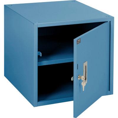 "Global Industrial™ Storage Workbench Cabinet 17-1/4""W x 20""D x 16""H - Blue"