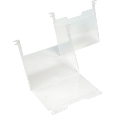 "SNH010 3"" x 5"" Clear Plastic Label Holder Price for Pack of 6"