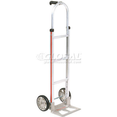 Magliner® Aluminum Hand Truck Pin Handle Mold-On Rubber Wheels