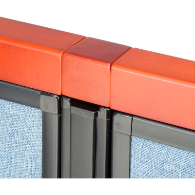 Interion® Deluxe Wood Filler Block for Partition
