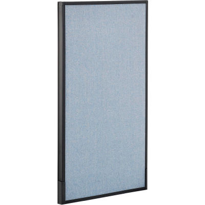 "Interion® Office Partition Panel, 24-1/4""W x 42""H, Blue"