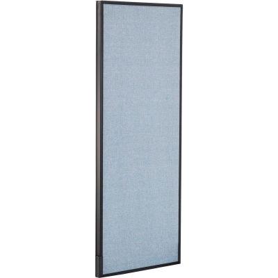 "Interion® Office Partition Panel, 24-1/4""W x 60""H, Blue"