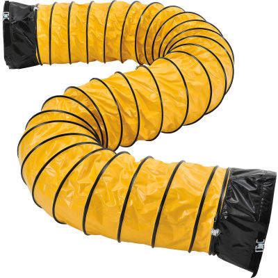 Global Industrial™ Flame Retardant Flexible Duct 16Ft for 16 Inch Diameter Fan