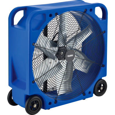 "Global Industrial™ 28"" Blower Fan, Rotomold Plastic, Direct Drive, 6000 CFM, 1/3 HP"
