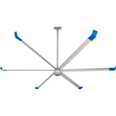 Global Industrial™ 18' HVLS Ceiling Fan - BLDC Motor - 259200 CFM - 208/240V
