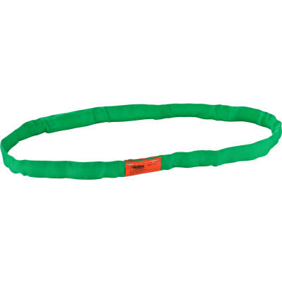 Global Industrial™Polyester Round Sling, Endless, 3 Ft., 5300/4200/10600 Lbs Cap