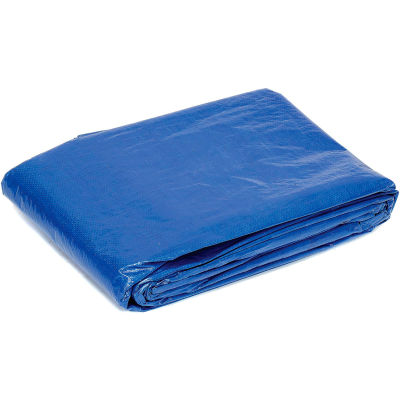 Global Industrial™ 8' x 10' Light Duty 2.9 oz. Tarp, Blue