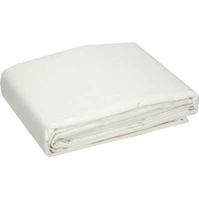 Global Industrial™ 30' x 30' Medium Duty 6 oz. Tarp, White