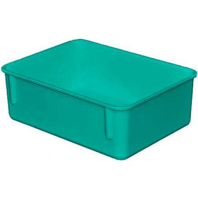 "Molded Fiberglass Toteline Nesting Tote 920108 - 11-3/4""L x 8-3/4""W x 4-1/8""H, Green"