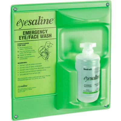 Honeywell Emergency Eye/Face Wash,16 Oz. Single Bottle Station, 32-000460-0000