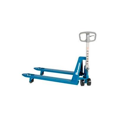 Bishamon® BS-55 Blue Label™ Narrow Fork Pallet Jack Truck 5500 Lb. Capacity 21 x 36