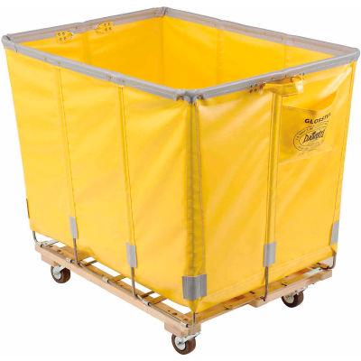 Dandux Vinyl Basket Bulk Truck 400720G20Y-3S 20 Bushel - Yellow