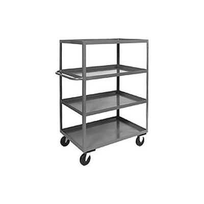 Heavy Duty Shelf Truck CD236 4 Shelves 36x24 3000 Lb. Capacity