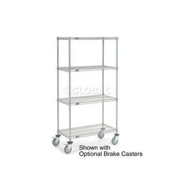 Nexelate Wire Shelf Truck 36x24x80 1200 Pound Capacity