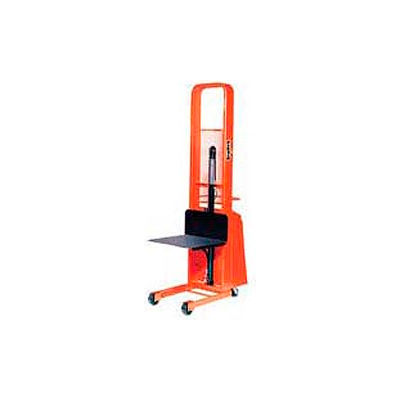 PrestoLifts™ Pacemaker Battery Powered Lift Stacker B566 1000 Lb. 24 x 24 Platform