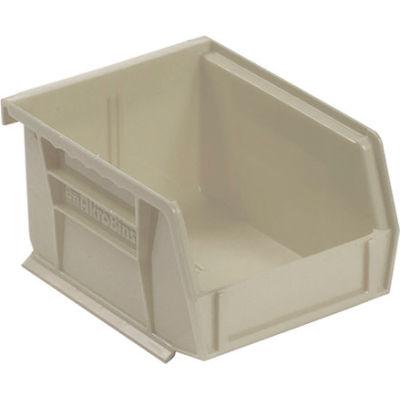 "Akro-Mils AkroBin® Plastic Stacking Bin 30210 - 4-1/8""W x 5-3/8""D x 3""H, Stone - Pkg Qty 24"