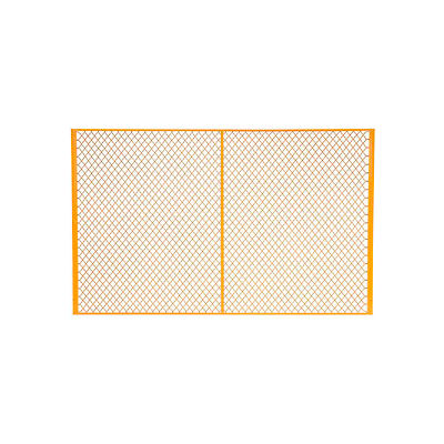 Global Industrial™ 8' W Machinery Wire Fence Partition Panel