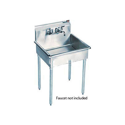 Aero Manufacturing Company® Stainless Steel 1 Compartment Sink