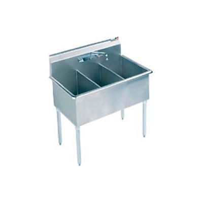 Aero Manufacturing Company® 4S3-2112 Stainless Steel Compartment Sink