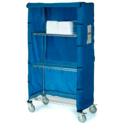 "Nylon Cover, Blue, 48""W x 18""D x 63""H"