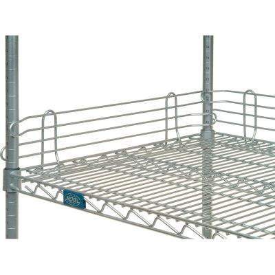"Nexel® AL418C Chrome Ledge 18""L X 4""H for Wire Shelves"