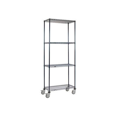 Nexelon™ Wire Shelf Truck 36x18x92 1200 Lb. Capacity