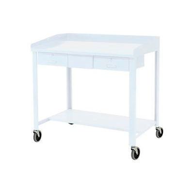 """Global Industrial™ 5"""" Polyurethane Caster Set for Pucel Extra-Wide Shop Desks"""
