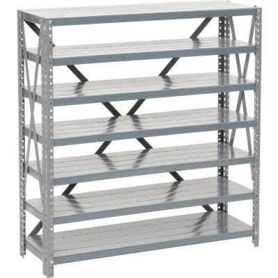 Global Industrial™ Steel Open Shelving 7 Shelves No Bin - 36x12x39