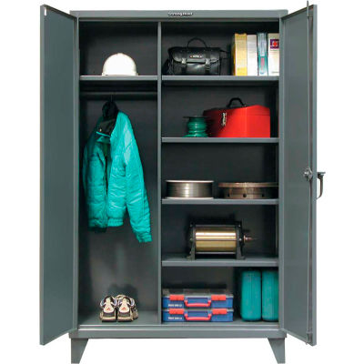 Strong Hold® Heavy Duty Combination Storage Cabinet 36-W-245 - 36x24x78