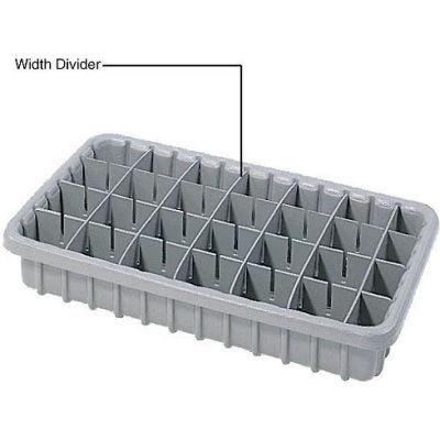 Dandux Length Divider 50P0016037 for Dividable Nesting Box 50P1805040, 50P1811040, Gray