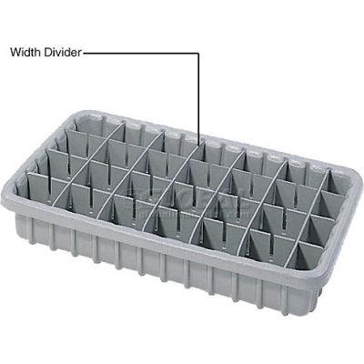 Dandux Width Divider 50P0010047 for Dividable Nesting Box 50P1811050, Gray - Pkg Qty 6