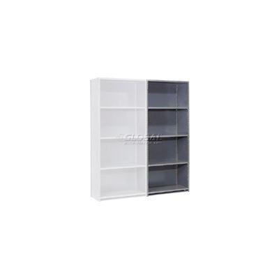 "Steel Shelving 20 Ga 36""Wx18""Dx85""H Closed Clip Style 5 Shelf Add-On"