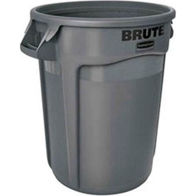 Rubbermaid Brute® 2655 Trash Container 55 Gallon - Gray