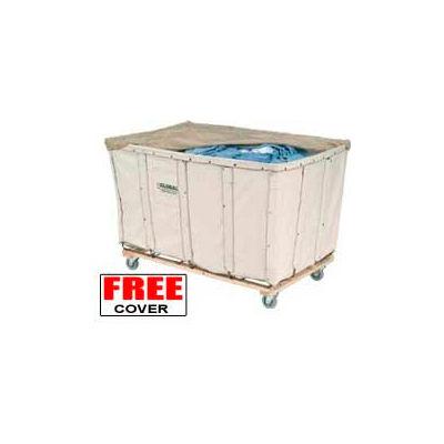 Best Value 20 Bushel Canvas Basket Bulk Truck