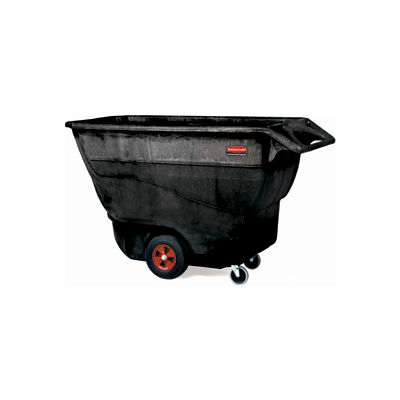 Rubbermaid® 9T15 1 Cu. Yd. Structural Foam Plastic Tilt Truck