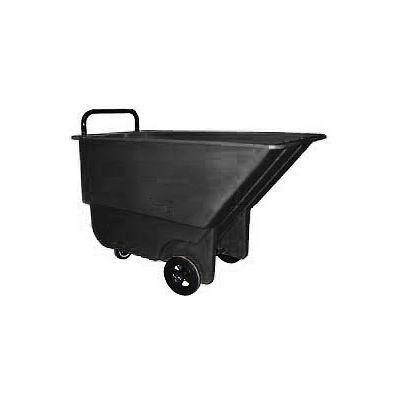Bayhead Products Black Light Duty 1/3 Cubic Yard Tilt Truck 275 Lb. Capacity