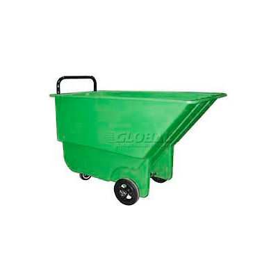 Bayhead Products Green Light Duty 1/3 Cubic Yard Tilt Truck 275 Lb. Capacity