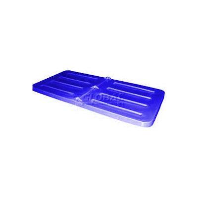 Blue Lid for Bayhead Products 1/3 Cubic Yard Tilt Truck