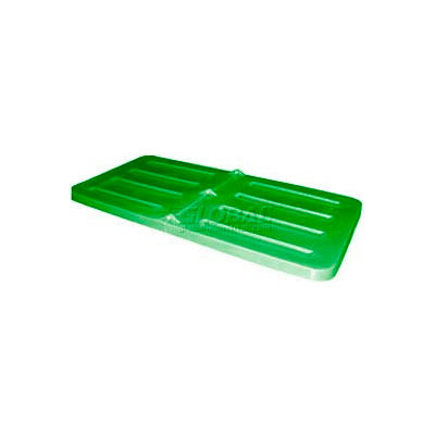 Green Lid for Bayhead Products 1/3 Cubic Yard Tilt Truck