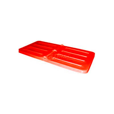 Red Lid for Bayhead Products 1/3 Cubic Yard Tilt Truck