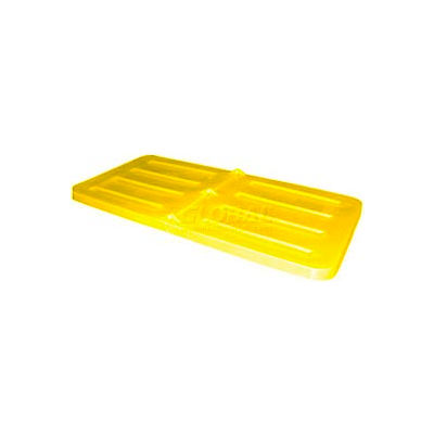 Yellow Lid for Bayhead Products 1/3 Cubic Yard Tilt Truck