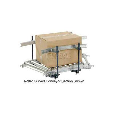 Steel Guard Rail Kit (Pair) GCBS-10-1.0 x 2.5-A for Omni Metalcraft 10' Straight Skate Whl Conveyor