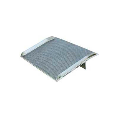 Aluminum Dock Board with Aluminum Curbs BTA-07005436 54x36 7000 Lb. Cap.