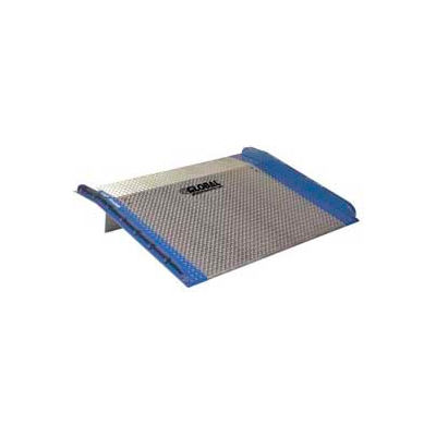 Bluff® AC6048 Aluminum Dock Board with Steel Curbs 60 x 48 10,000 Lb. Cap.